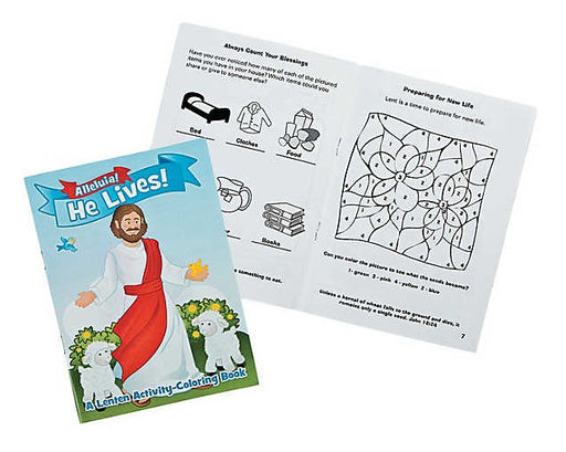 Lenten Activity & Coloring Book
