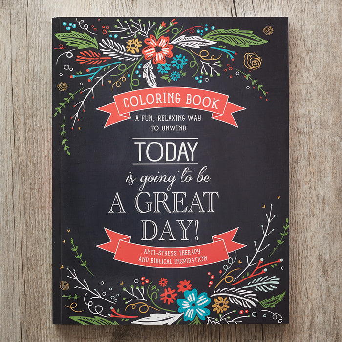 """Today"" Colouring Book"