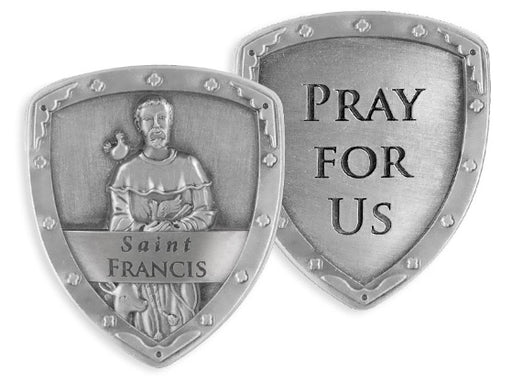 St. Francis Pocket Shield - Catholic Gifts Canada
