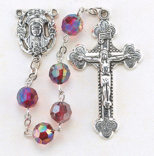 Birthstone Rosary for January