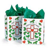 Jesus is the Heart of Christmas Bag