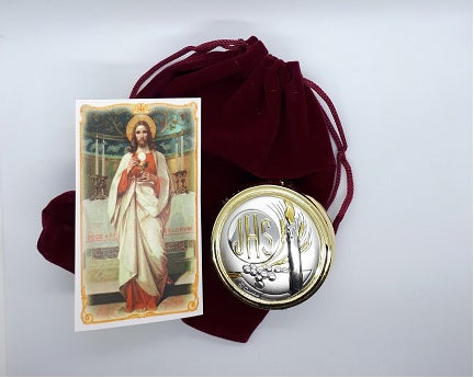 Eucharistic Pyx/Keepsake Box