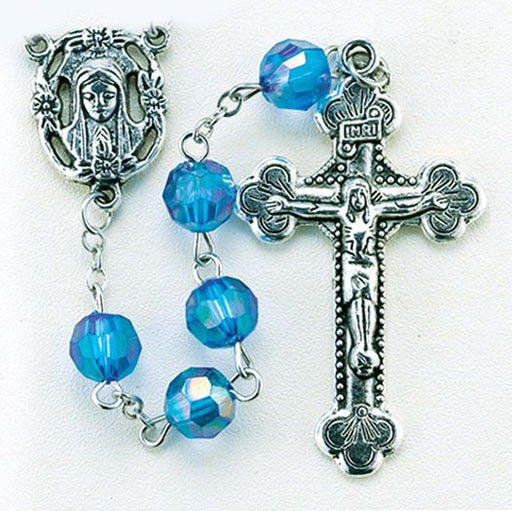 Birthstone Rosary for September