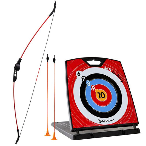 SOFT ARCHERY SET 100 - GEOLOGIC - Decathlon New Zealand
