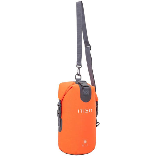 WATERPOOF DRY BAG 10L ORANGE - ITIWIT - Decathlon New Zealand