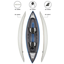 Load image into Gallery viewer, INFLATABLE KAYAK 2 PERSONS GREEN - ITIWIT - Decathlon New Zealand