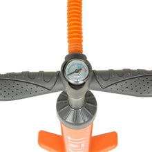 Load image into Gallery viewer, STAND UP PADDLE HIGH PRESSURE HAND PUMP DOUBLE-ACTION 20 PSI ORANGE - ITIWIT - Decathlon New Zealand