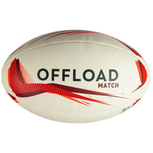 RUGBY BALL R500 SIZE 5 - OFFLOAD - Decathlon New Zealand