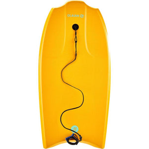 "BODYBOARD 1.45M-1.65M 38"" WITH GLIDE SLICK AND LEASH - OLAIAN - Decathlon New Zealand"