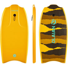 "Load image into Gallery viewer, BODYBOARD 1.45M-1.65M 38"" WITH GLIDE SLICK AND LEASH - OLAIAN - Decathlon New Zealand"