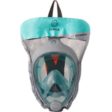 Load image into Gallery viewer, SNORKELING MASK EASYBREATH SURFACE - TURQUOISE - SUBEA - Decathlon New Zealand