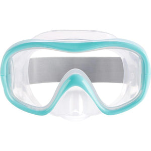 FREEDIVING MASK FOR CHILDREN FRD100 TURQUOISE - SUBEA - Decathlon New Zealand