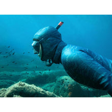 Load image into Gallery viewer, FREEDIVING SNORKEL FRD 500 FLEXIBLE STORM GREY - SUBEA - Decathlon New Zealand