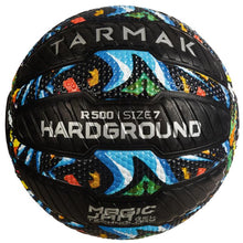 Load image into Gallery viewer, TARMAK R500 ADULT SIZE 7 BASKETBALL - GRAFFITI - Decathlon New Zealand