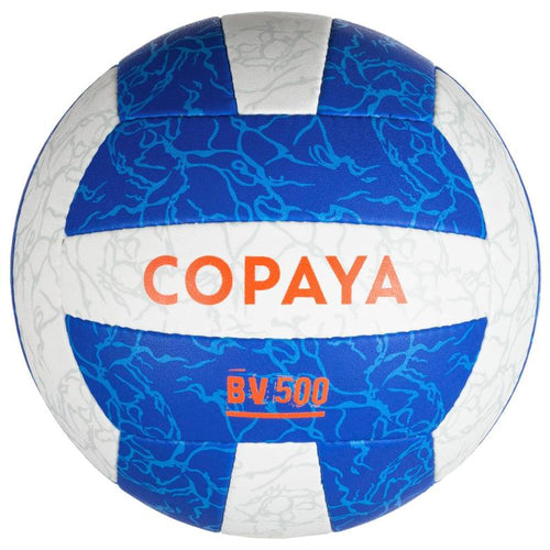 Beach volleyball BV500 white/blue Copaya - Decathlon New Zealand
