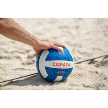 Load image into Gallery viewer, Beach volleyball BV500 white/blue Copaya - Decathlon New Zealand