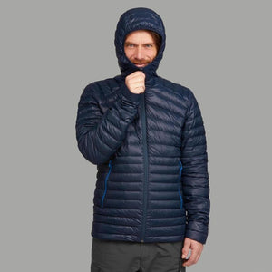 Trek 500 Men's Hiking Down Padded Jacket - Decathlon New Zealand