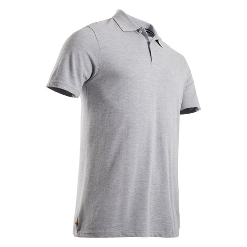 Men's Golf Short Sleeve Polo Shirt - Dark grey - Decathlon New Zealand