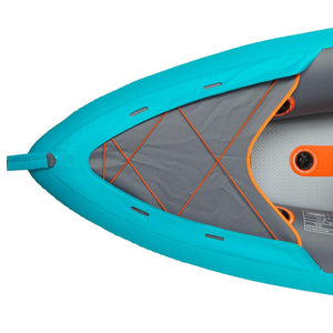 X100+ INFLATABLE HIGH-PRESSURE DROPSTITCH FLOOR 3-SEAT TOURING KAYAK - Decathlon New Zealand