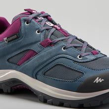 Load image into Gallery viewer, Women'S Waterproof Mountain Walking Shoes - Mh100  /Blue
