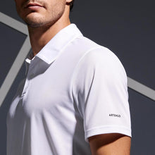 Load image into Gallery viewer, Dry 100 Tennis Polo Shirt - White - Decathlon New Zealand
