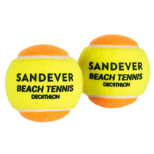 BTB 990 Beach Tennis Ball Twin-Pack - Decathlon New Zealand