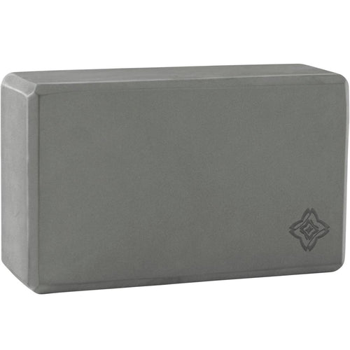 Yoga Foam Block - Dark Grey - Decathlon New Zealand
