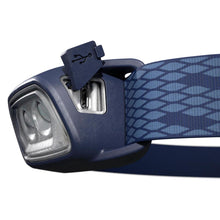 Load image into Gallery viewer, Rechargeable Trekking Head Torch - TREK 500 USB - 120 lumens - Blue - Decathlon New Zealand