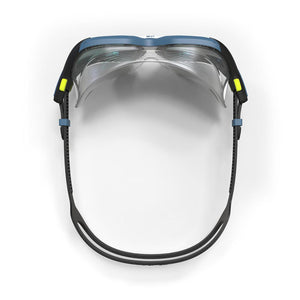 Active Asia Swimming Mask 500 L  Blue Smoke Lenses