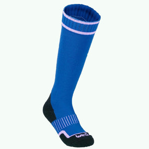 100 Children's Ski Socks - Blue - Decathlon New Zealand