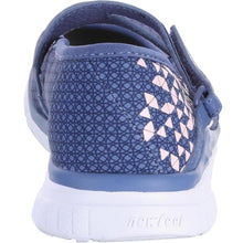 Load image into Gallery viewer, Children'S Fitness Walking Ballerina Pumps - Navy/Pink