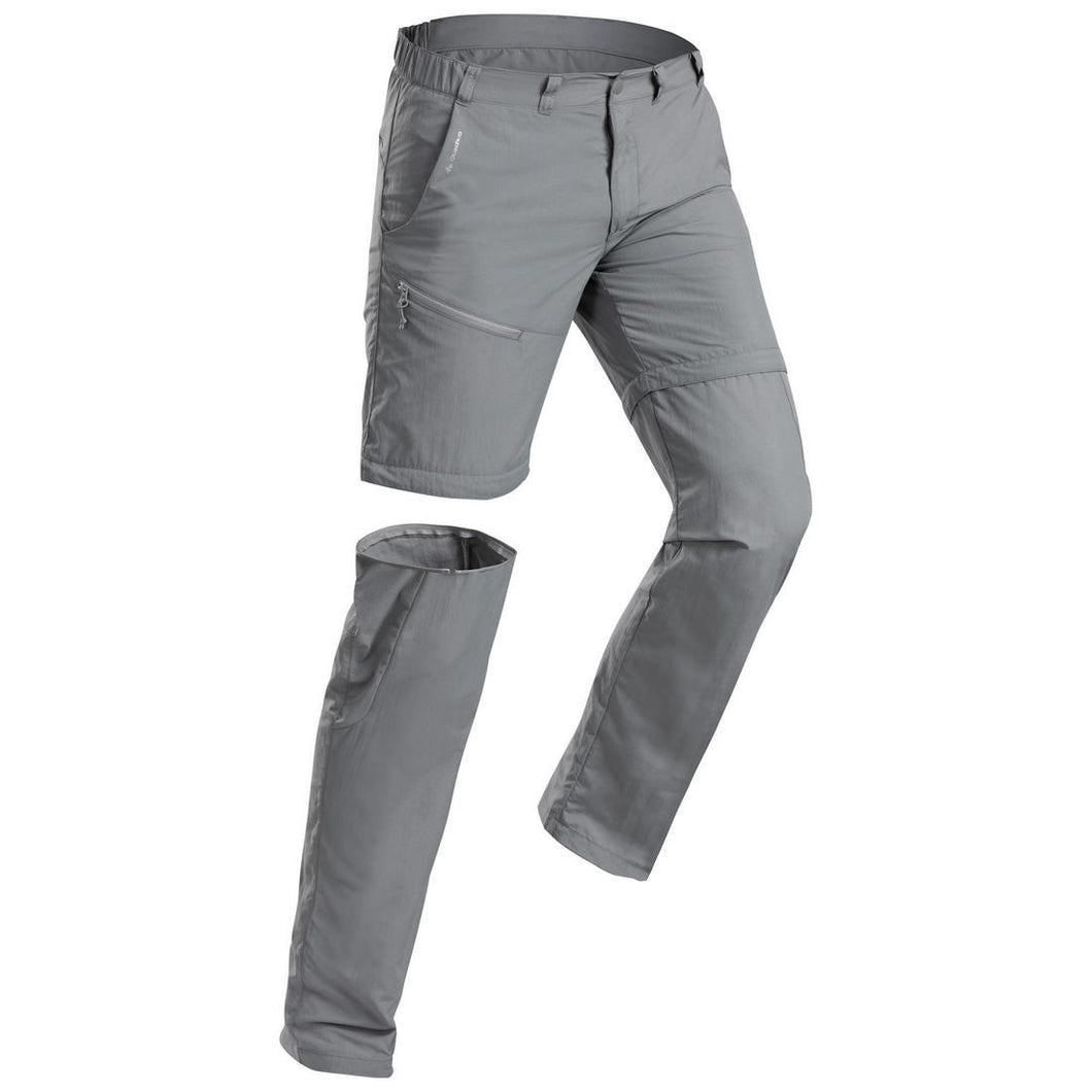Men's adaptable mountain walking trousers - MH150 - Decathlon New Zealand