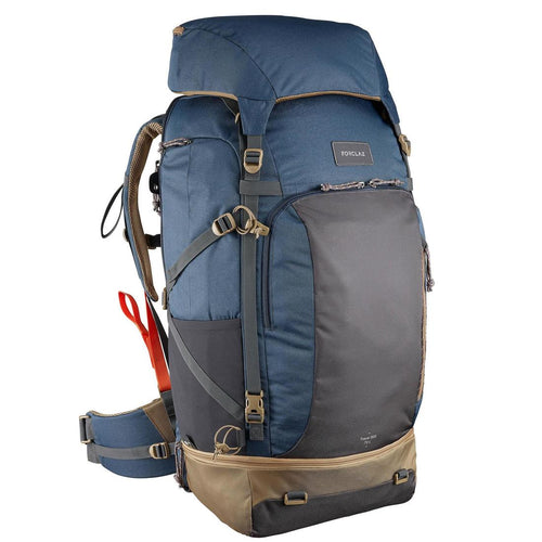 Men'S Travel Trekking 70 L Backpack Travel 500