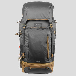 Men's Trekking Travel Backpack 50 Litres TRAVEL 500 - Grey - Decathlon New Zealand