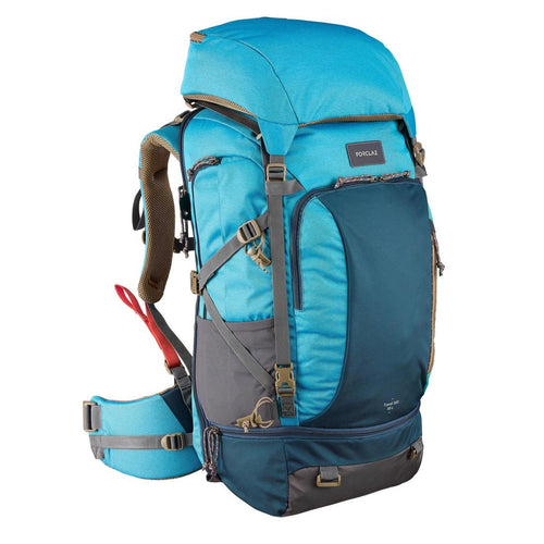 Women's Travel Trekking 50 L Backpack Travel 500 - Blue - Decathlon New Zealand