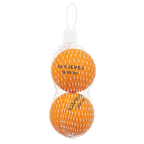 Beach Tennis Ball BTB 100 Twin-Pack - Orange - Decathlon New Zealand