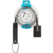 Load image into Gallery viewer, 7 Mm Diameter Surfboard Leash 7' (210 Cm)