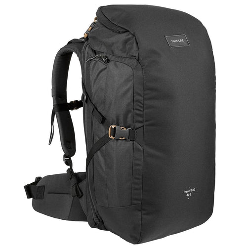 Travel Trekking 40 L Backpack Travel 100 - Burgundy - Decathlon New Zealand