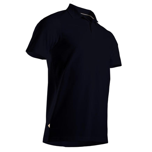 Men's Golf Short Sleeve Polo Shirt - Black - Decathlon New Zealand