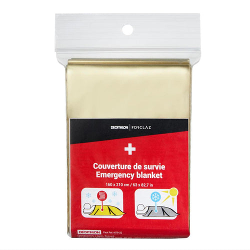 Disposable survival blanket