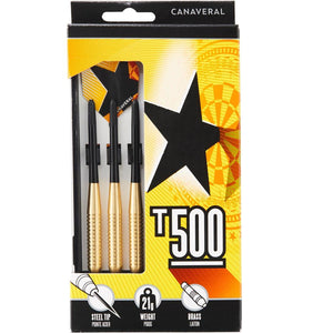 T500 Steel-Tipped Darts Tri-Pack - Decathlon New Zealand