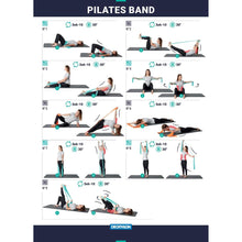 Load image into Gallery viewer, Pilates Rubber Resistance Band - Medium 6 lbs/3 kg - Decathlon New Zealand