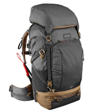 Load image into Gallery viewer, Men's Trekking Travel Backpack 50 Litres TRAVEL 500 - Grey - Decathlon New Zealand