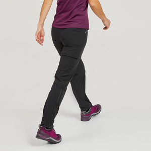 Women's convertible mountain hiking trousers - MH550 - Decathlon New Zealand