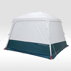 Hoop-supported camping living area - Arpenaz Base Fresh - 10-Person - Decathlon New Zealand