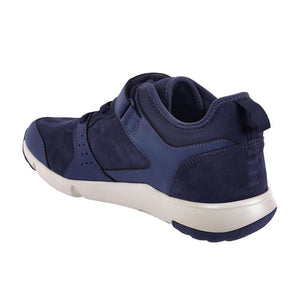 Men'S Fitness Walking Shoes Actiwalk Easy Leather - Navy