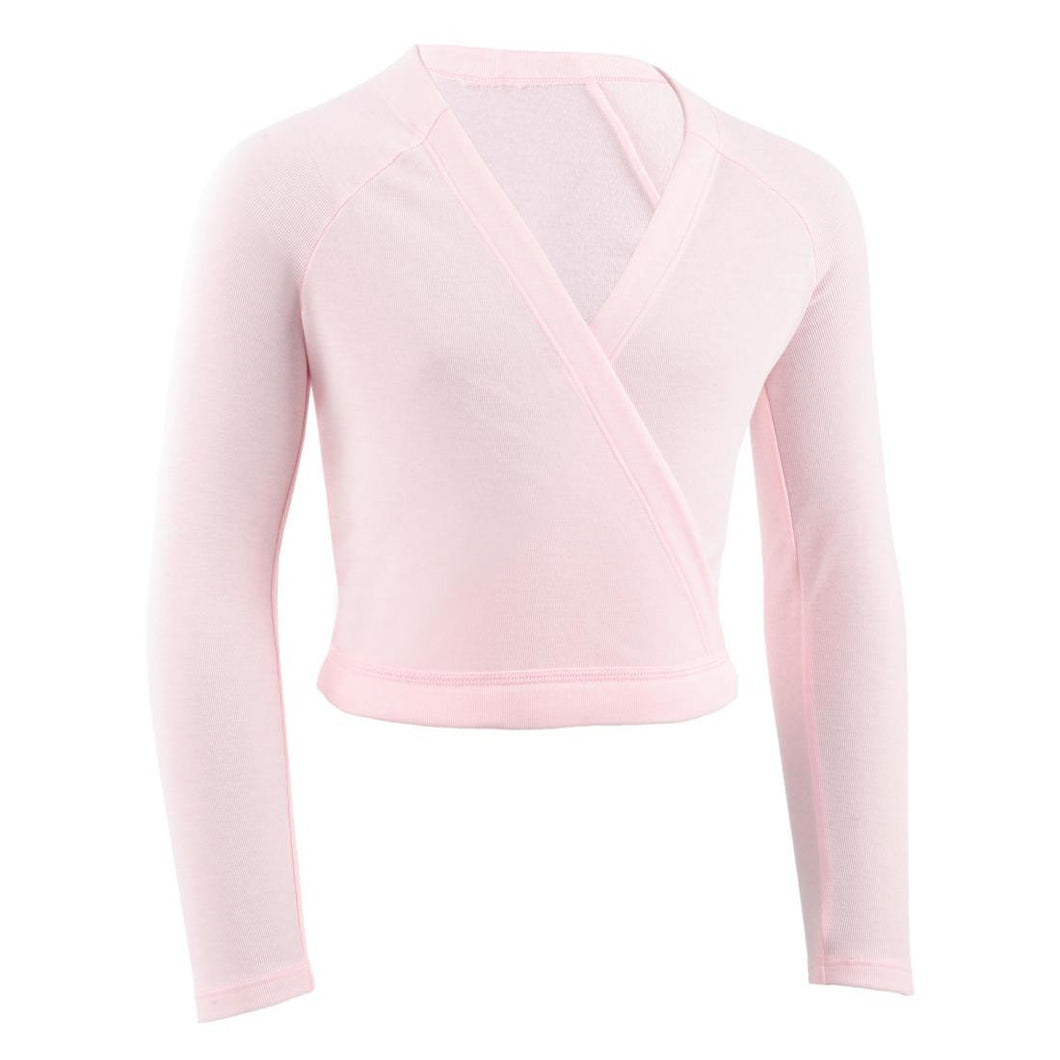 Girls' Ballet Wrap-Over Top