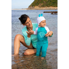 Load image into Gallery viewer, Baby Uv-Protection T-Shirt With Hood