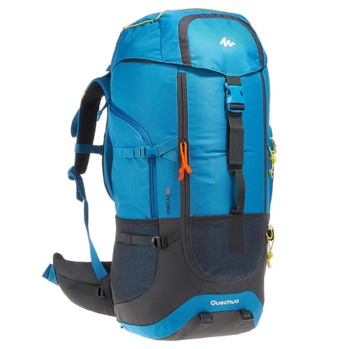 Adult Trekking Backpack - Forclaz 60 Litres - Blue - Decathlon New Zealand
