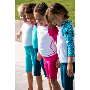 Baby Uv Protection Short Swimsuit Bottoms - Girl